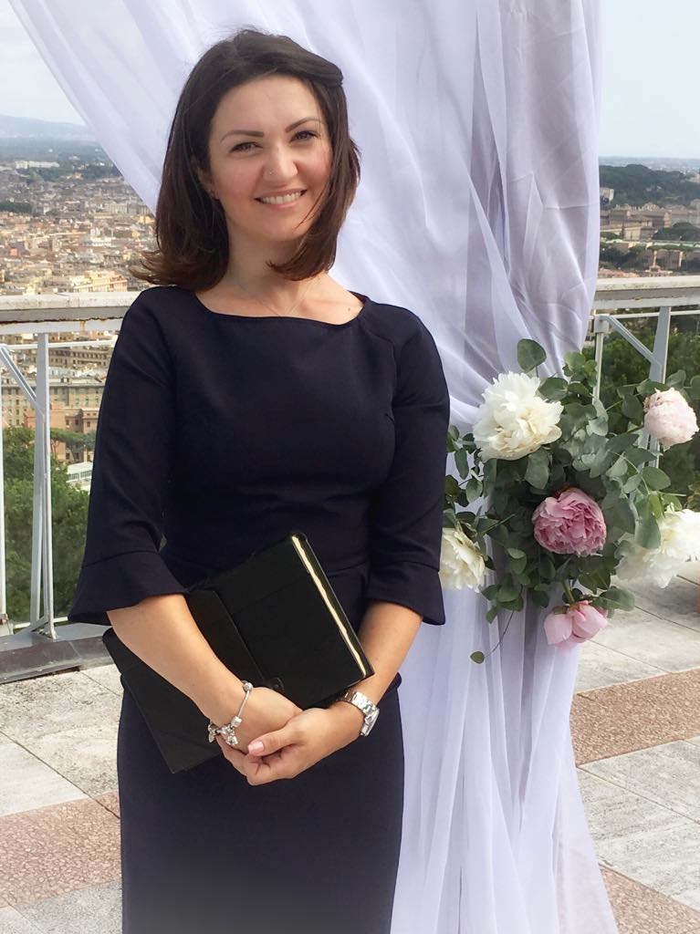 wedding celebrant lake como rome tuscany