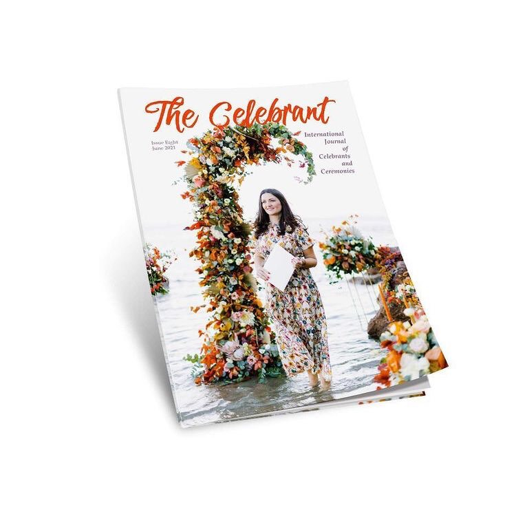 cover of the celebrant magazine featured